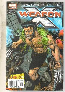 Weapon X #16 comic book near mint 9.4