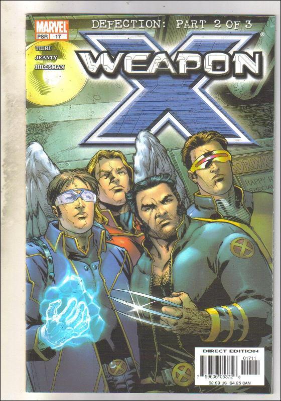 Weapon X #17 comic book near mint 9.4