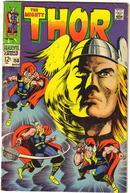 Thor #158 comic book vg+ 4.5