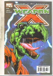 Weapon X #20 comic book near mint 9.4