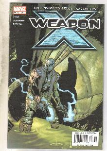 Weapon X #21 comic book very fine/near mint 9.0