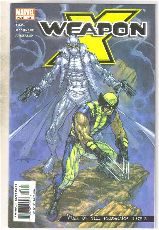 Weapon X #23 comic book near mint 9.4