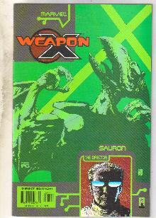 Weapon X The Draft-Sauron #1 comic book near mint 9.4