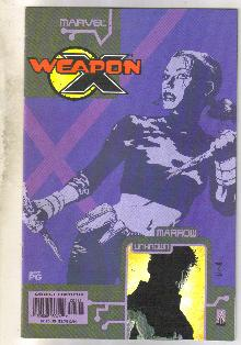 Weapon X The Draft-Marrow #1 comic book near mint 9.4
