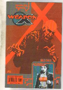 Weapon X The Draft-Wild Child #1 comic book near mint 9.4