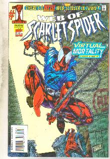 Web of Scarlet Spider #1 comic book near mint 9.4