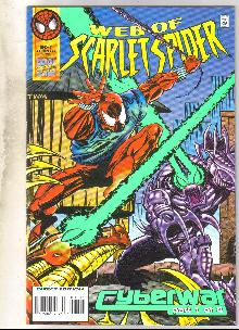 Web of Scarlet Spider #2 comic book near mint 9.4