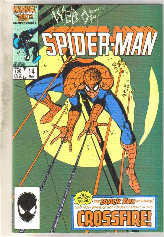 Web of Spider-man #14 comic book near mint 9.4