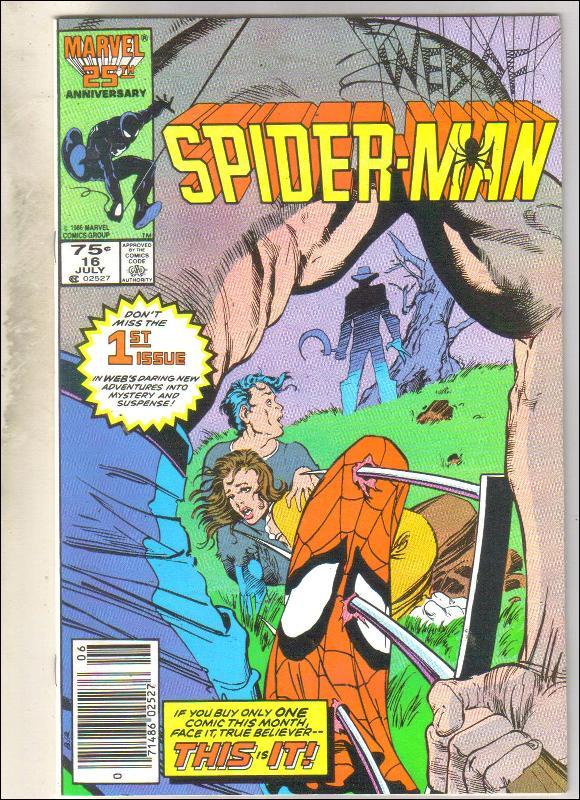 Web of Spider-man #16 comic book near mint 9.4