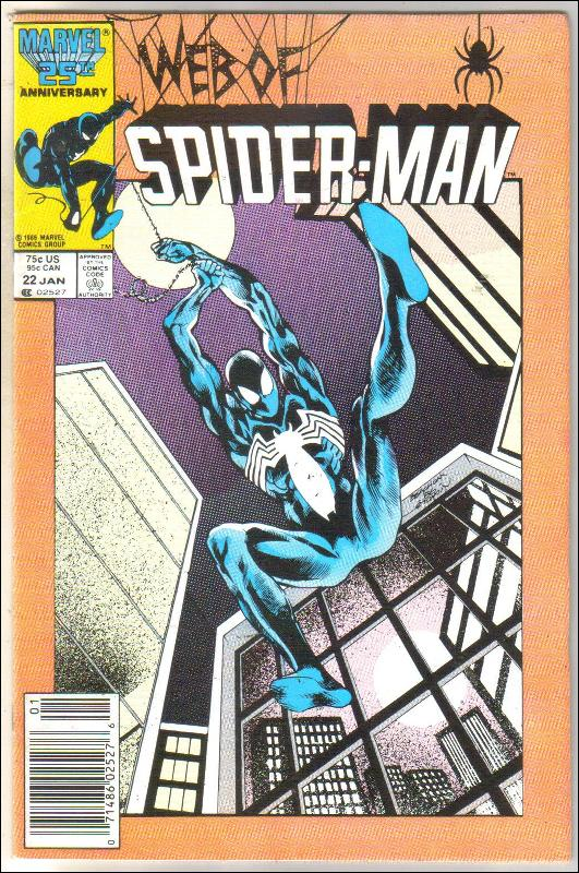 Web of Spider-man #22 comic book very fine 8.0
