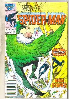 Web of Spider-man #24 comic book very fine 8.0