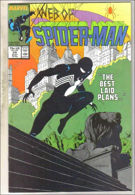 Web of Spider-man #26 comic book near mint 9.4