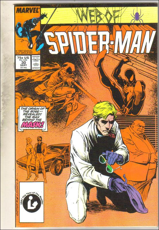 Web of Spider-man #30 comic book near mint 9.4