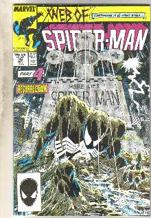 Web of Spider-man #32 comic book near mint 9.4