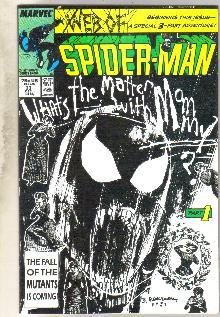 Web of Spider-man #33 comic book near mint 9.4