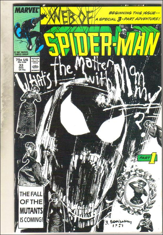 Web of Spider-man #33 comic book near mint 9.4