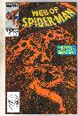 Web of Spider-man #54 comic book near mint 9.4