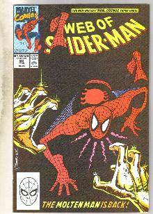 Web of Spider-man #62 comic book near mint 9.4