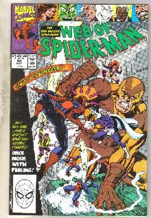 Web of Spider-man #64 comic book near mint 9.4