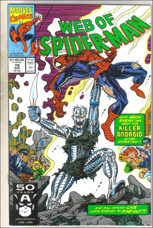 Web of Spider-man #79 comic book mint 9.8