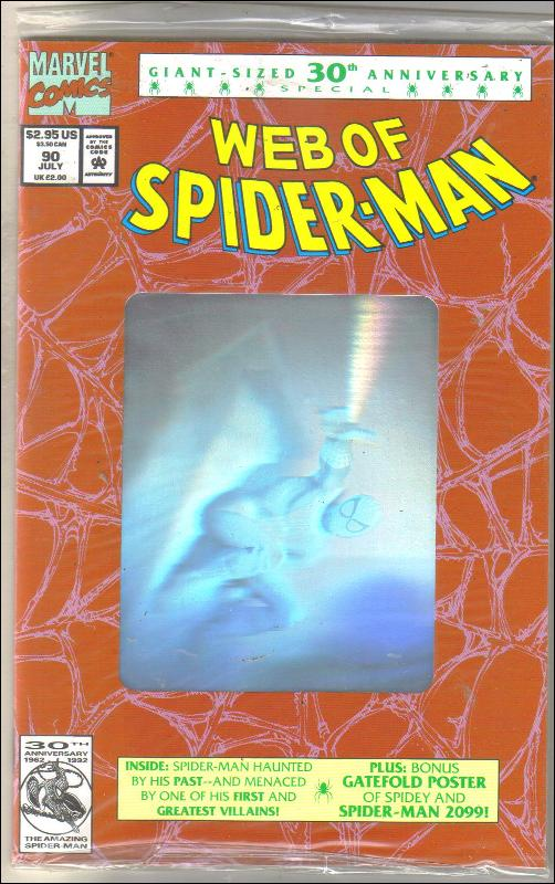 Web of Spider-man #90 comic book mint 9.8