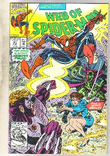 Web of Spider-man #91 comic book mint 9.8