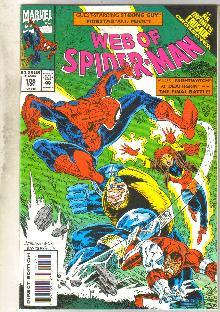Web of Spider-man #106 comic book near mint 9.4