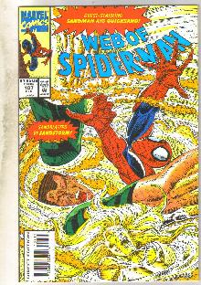 Web of Spider-man #107 comic book near mint 9.4