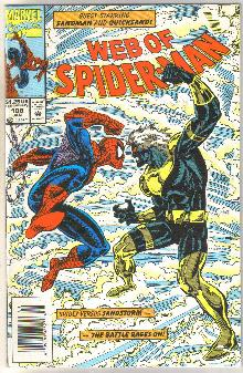 Web of Spider-man #108 comic book mint 9.8