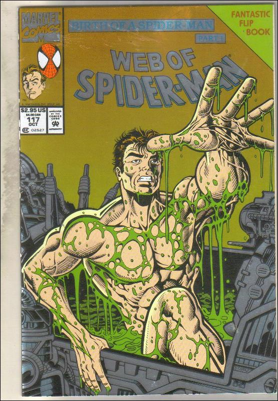 Web of Spider-man #117 comic book mint 9.8