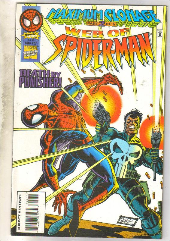Web of Spider-man #123 comic book mint 9.8