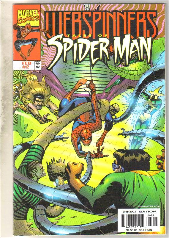 Webspinners Tales of Spider-man #2 comic book mint 9.8