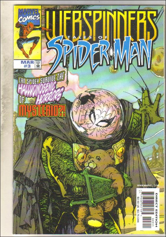 Webspinners Tales of Spider-man #3 comic book mint 9.8
