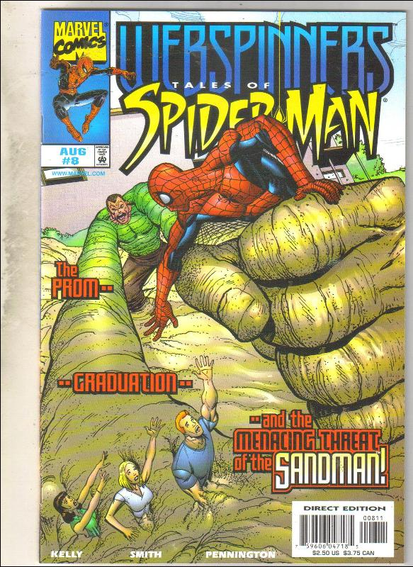 Webspinners Tales of Spider-man #8 comic book mint 9.8