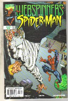 Webspinners Tales of Spider-man #9 comic book near mint 9.4