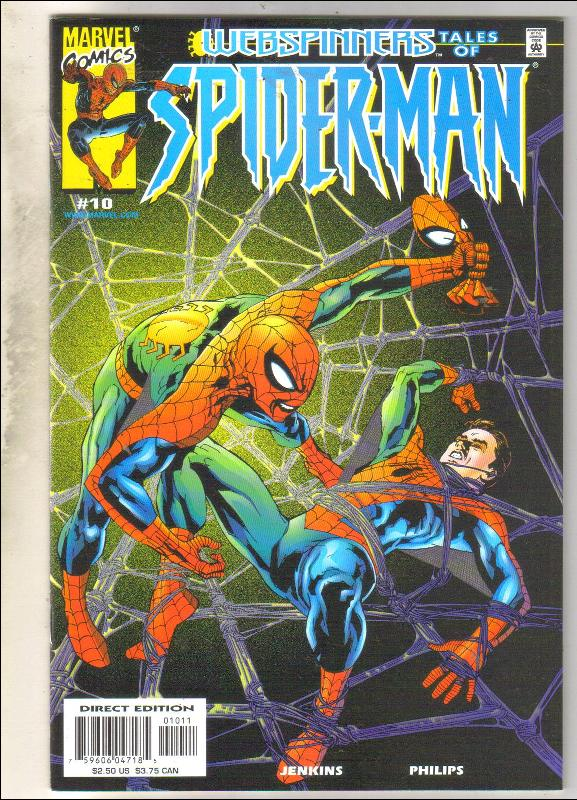 Webspinners Tales of Spider-man #10 comic book mint 9.8