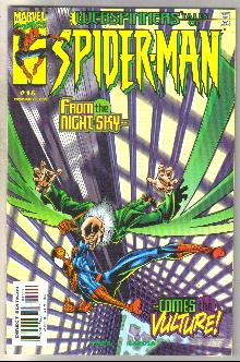 Webspinners Tales of Spider-man #15 comic book near mint 9.4