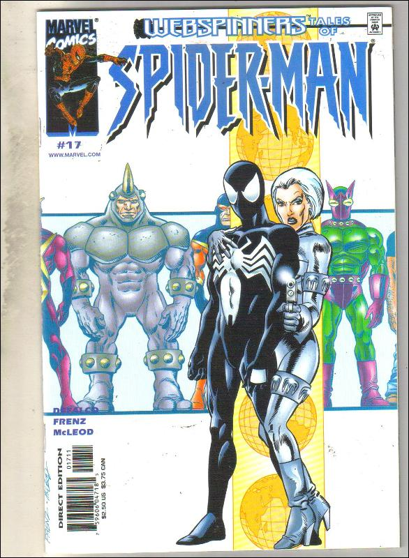 Webspinners Tales of Spider-man #17 comic book mint 9.8