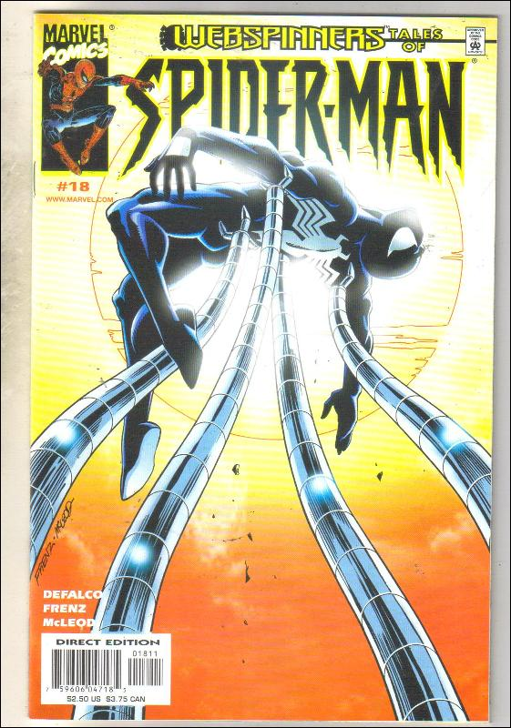 Webspinners Tales of Spider-man #18 comic book mint 9.8
