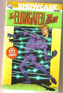 Showcase Presents The Elongated Man trade paperback