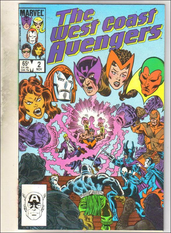 West Coast Avengers #2 comic book mint 9.8