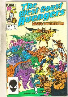 West Coast Avengers #4 comic book near mint 9.4