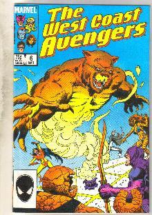 West Coast Avengers #6 comic book near mint 9.4