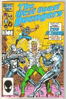 West Coast Avengers #7 comic book near mint 9.4