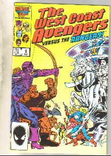 West Coast Avengers #8 comic book near mint 9.4