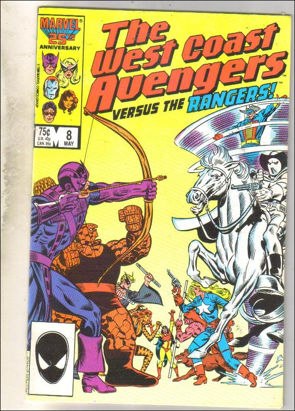 West Coast Avengers #8 comic book near mint 9.4