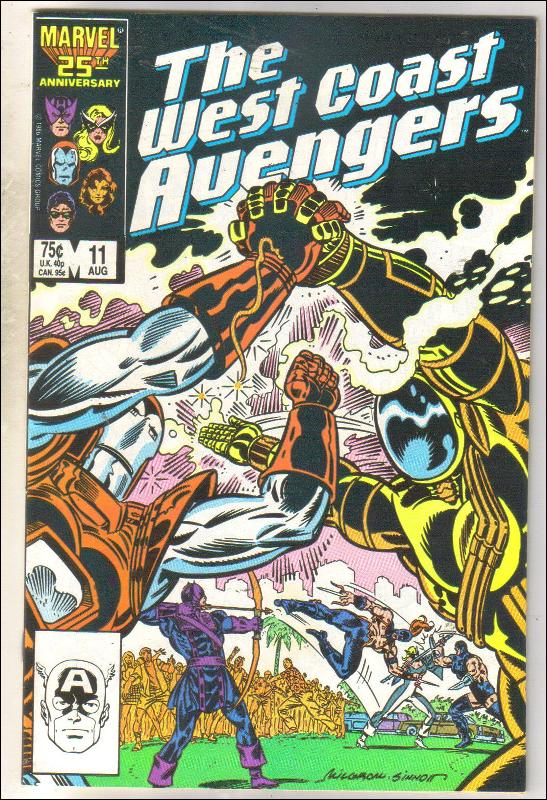 West Coast Avengers #11 comic book mint 9.8