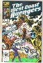 West Coast Avengers #11 comic book mint 9.8
