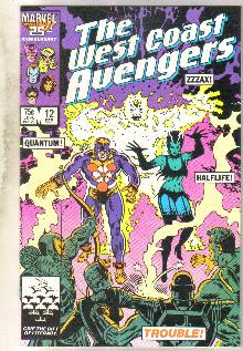 West Coast Avengers #12 comic book mint 9.8