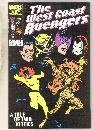 West Coast Avengers #16 comic book near mint 9.4
